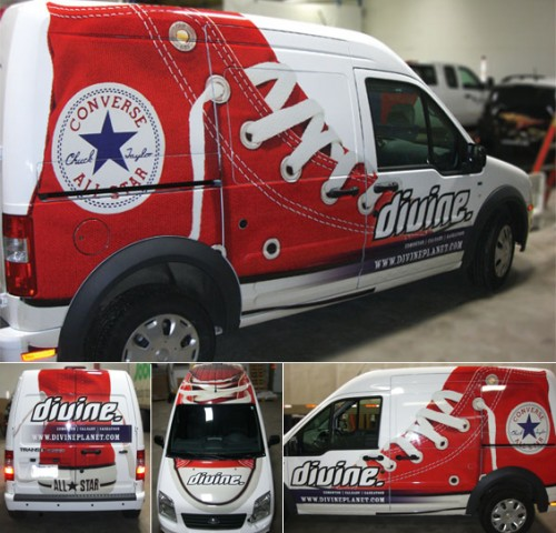 Divine Decadence In Edmonton Gets A Chuck Taylor Vehicle