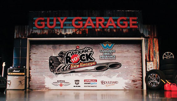 Classic Rock 101 Wrapped The Guy Garage With Canawrap