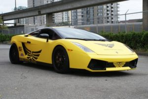 Ultra Matte Yellow Lamborghini Gallardo
