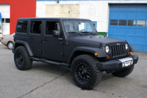 3M1080 Matte Black Jeep Wrap